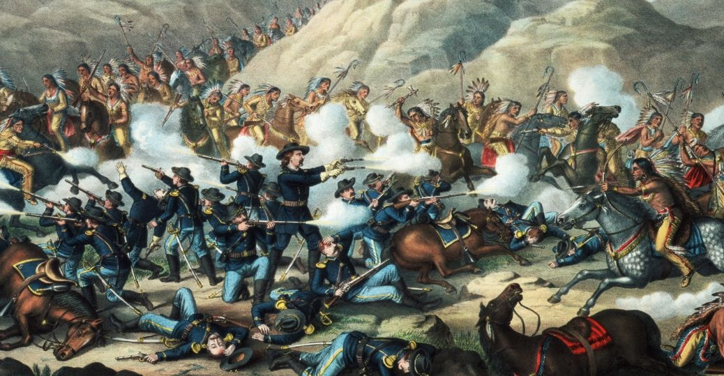 Perang Saudara AS Membagi Bangsa Indian Bagian 2